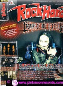 ROCK-HARD-N-2-2003-CRADLE-OF-FILTH-METALLICA-PORCUPINE-TREE-CHILDREN-OF-BODOM