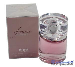 12f8dcfb4c BOSS FEMME 2.5 OZ EDP SPRAY FOR WOMEN NEW IN BOX BY HUGO BOSS ...