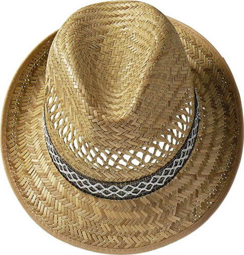 Unisex Harvester Straw Holiday Hat 3 Sizes