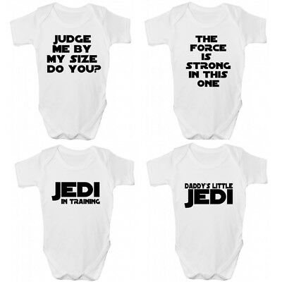 Star Wars Jedi Baby Grow/story-star Wars Ispirato Bambini Clothing-