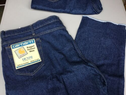 Details about  /Men's Big /& Tall Carhartt Traditional Fit Jeans Unhemmed 2 Pair Size 50 #1358L