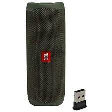 JBL Flip 5 Waterproof Portable Wireless Bluetooth Speaker Bundle with USB 2.0