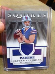 huge discount d6d36 88791 Details about NATHAN PETERMAN 2017 PANINI