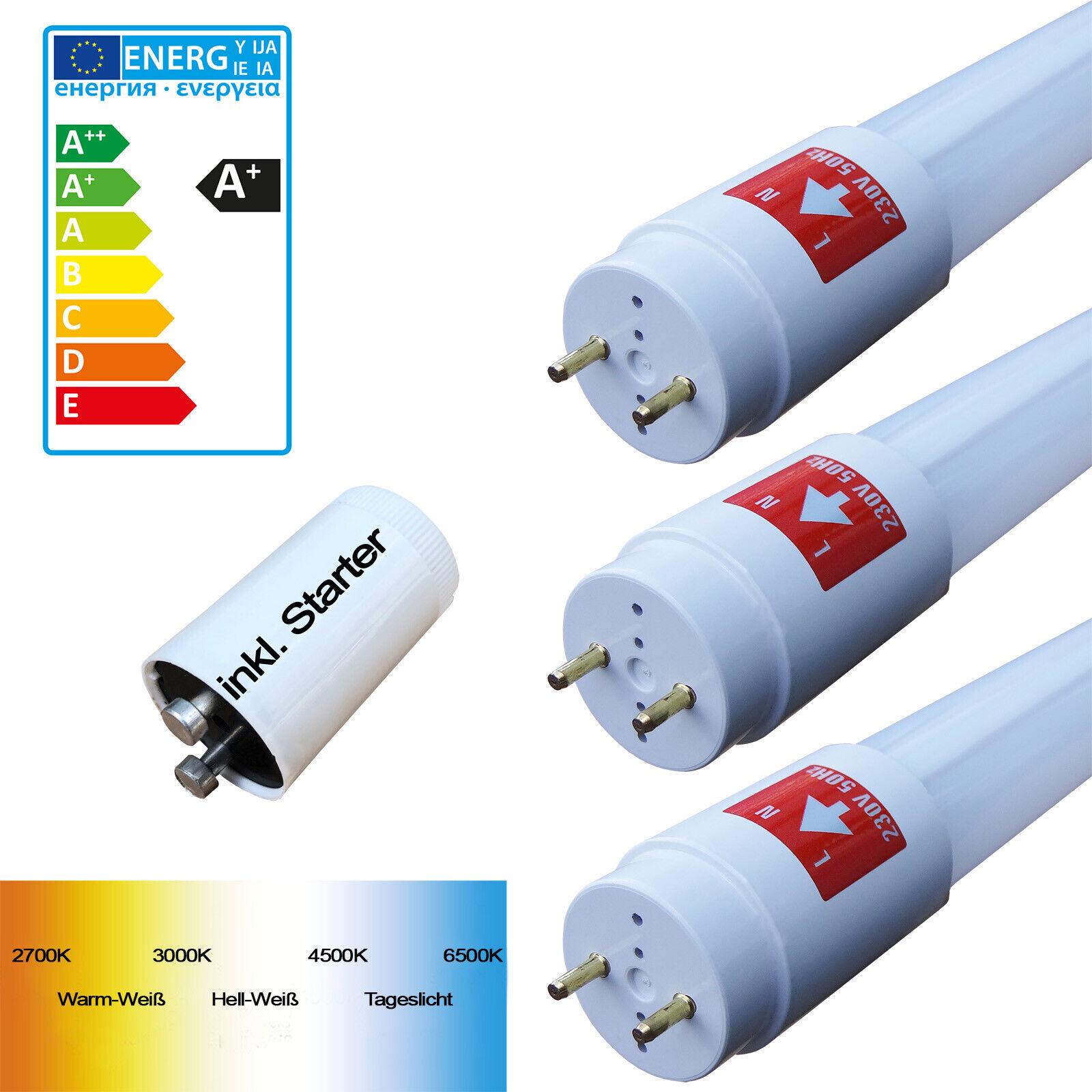 LED Röhre T8 G13 60 120 150cm Leuchtstoffröhre Tube Neonröhre Leuchte 10W - 24W
