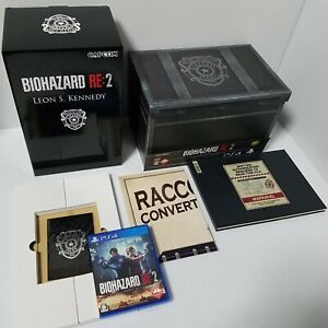 Biohazard Re:2 Resident evil 2 Collector's Edition from Japan