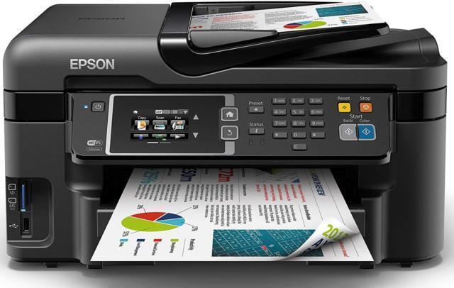 Epson WF-3620DWF All-in-One Inkjet Printer