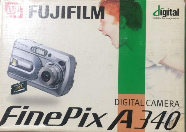Fujifilm FinePix A Series A340 4.0MP Digital Camera - Silver ..