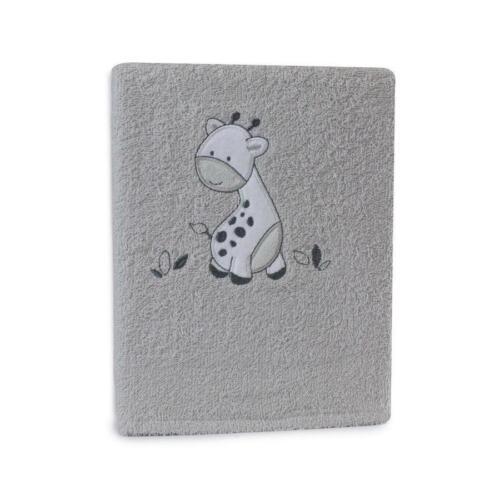 Bubba Blue Baby Bath Towel Grey Playtime