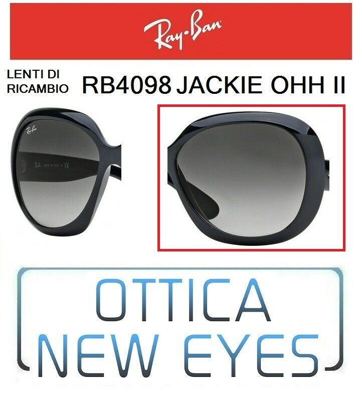 Charitable Rayban Replacement Lenses Jackie Ohh Ii Rb4098 601/8g Replacement Lenses Ray Ban Moderate Price