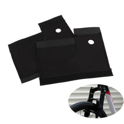 Durable 1Pair Mountain Bike Front Fork Pad Frame Wrap Cover Protector Bicycle