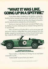 1970 Triumph Spitfire MkIII Classic Vintage Advertisement Ad A4-B