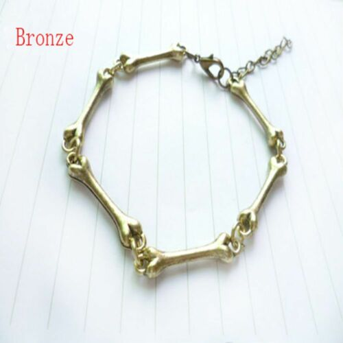 Os Squelette Courbe Cuff Bangle Bracelet Europe Amérique bijoux vintages