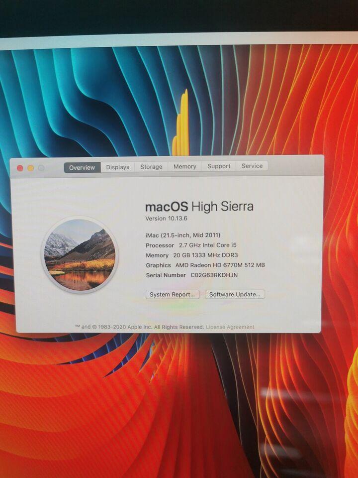 iMac, Imac mid 2011, 2.7 GHz