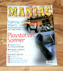 1996 Games Magazin Resident Evil Fatal Fury 3 Metal Black Bomberman Sonic Wings Vente D'éTé SpéCiale