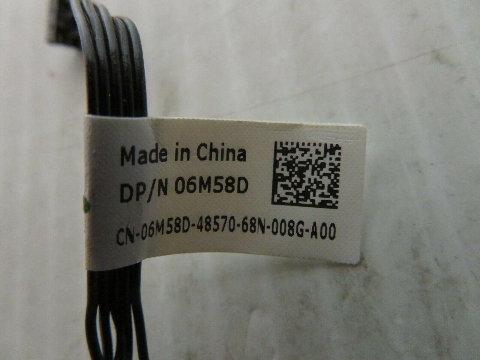 ns02 NEW GENUINE Dell Precision T3420 SFF Power Button Cable 6M58D 06M58D