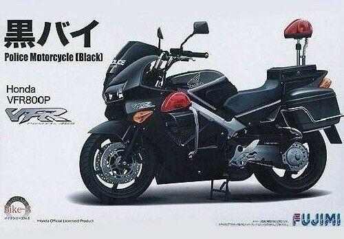 Fujimi Bike8 1 12 Honda Vfr800p Police Black Motorcycle For Sale Online Ebay