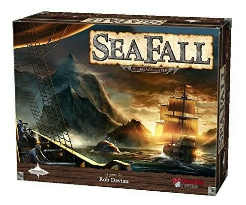 Seafall A Legacy Game Board Game NEW MISB