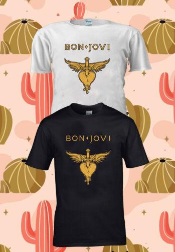 Jon Bon Jovi Rock Band Tour 2019 T-SHIRT CONCERT TSHIRT UNISEX MEN WOMEN