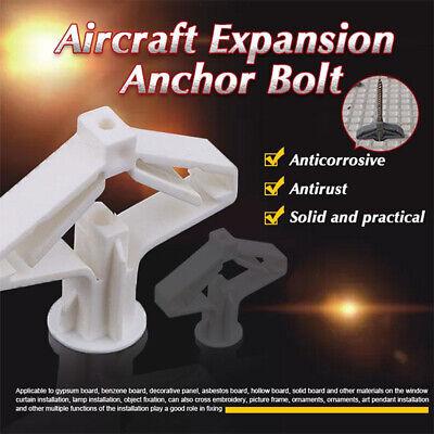 10PCS Aircraft Expansion Anchor Bolts Wall Curtain Gypsum Board Expansion Tube