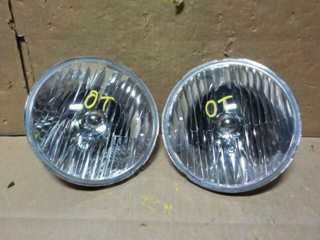 Pair Set Halogen Headlights Headlamps Replacement for 07-17 Jeep Wrangler 55078149AC 55078148AC