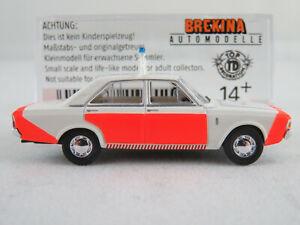 Brekina-19411-ford-17m-Limousine-1968-1971-034-rijkspolitie-NL-1-87-h0-nuevo-en-el-embalaje-original