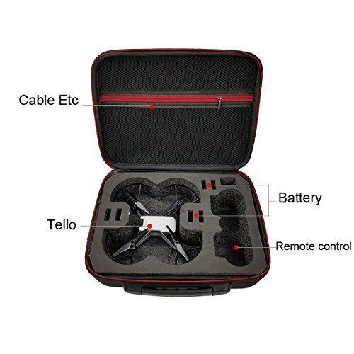 Kismaple Tello Hardshell Travel Carrying Case Storage Bag Handbag, Portable EVA
