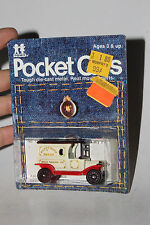 TOMY TOMICA POCKET CARS #134-F13 1915 FORD MODEL T DELIVERY, HAPPY HOME BREAD #2
