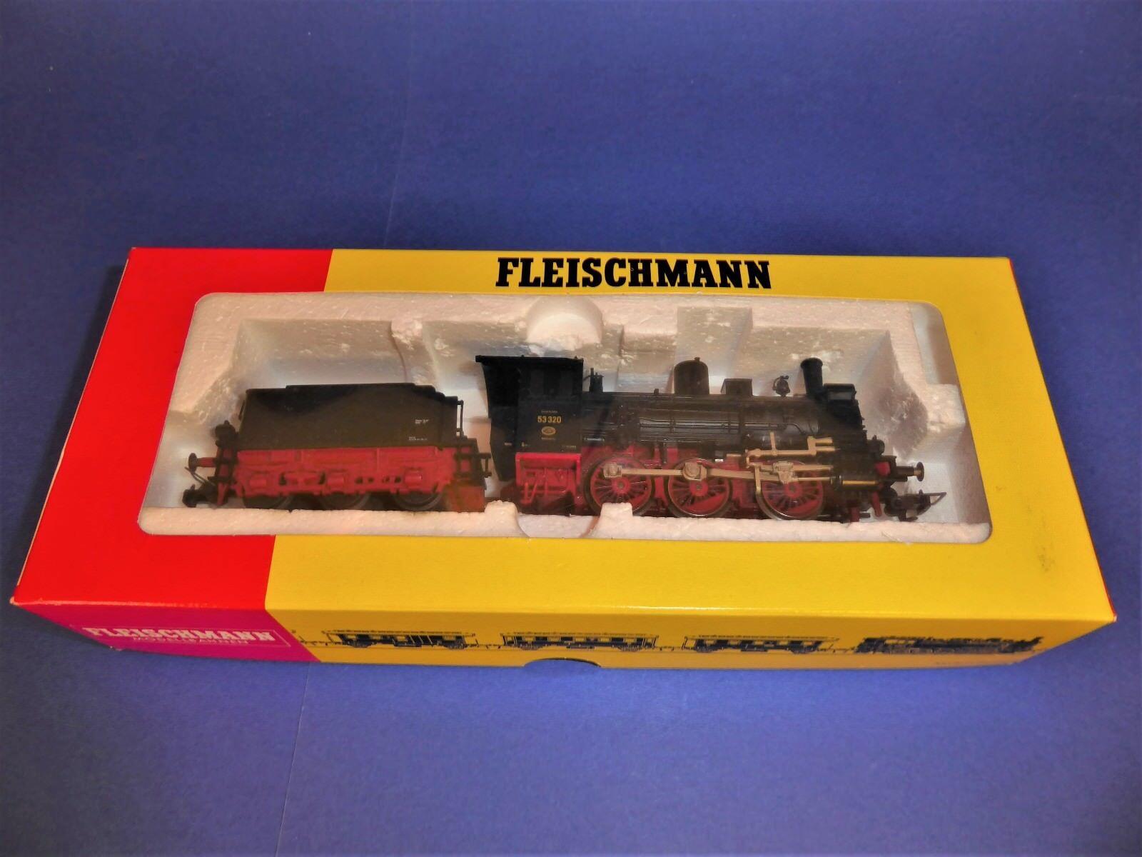 FLEISCHMANN H0 BR53 320 DRG Dampflok