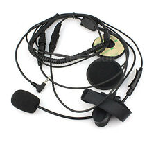 Motorcycle Helmet Headset Microphone for YAESU Vertex VX-3R Radio PTT 1 Pin 3.5m