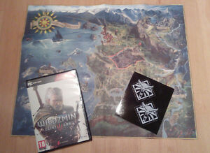 The witcher 3 wild hunt world map stickers sticker official image is loading the witcher 3 wild hunt world map stickers gumiabroncs Images