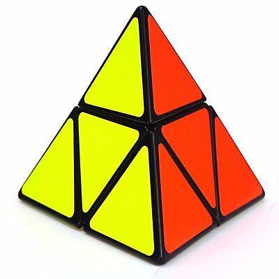 Perseverando Shengshou Pyramorphix 2x2x2 Puzzle - Black Portare Più Convenienza Per Le Persone Nella Loro Vita Quotidiana
