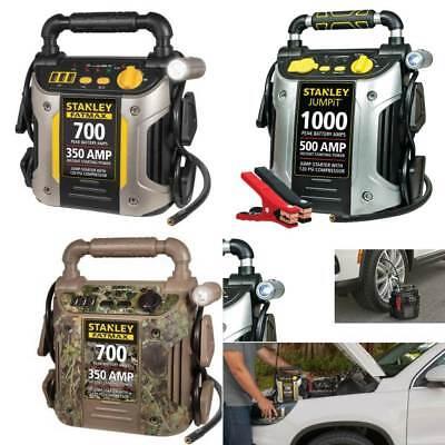 Battery Jump Starter Portable 1000 Peak Power Booster Pack Car Charger 500 AMP