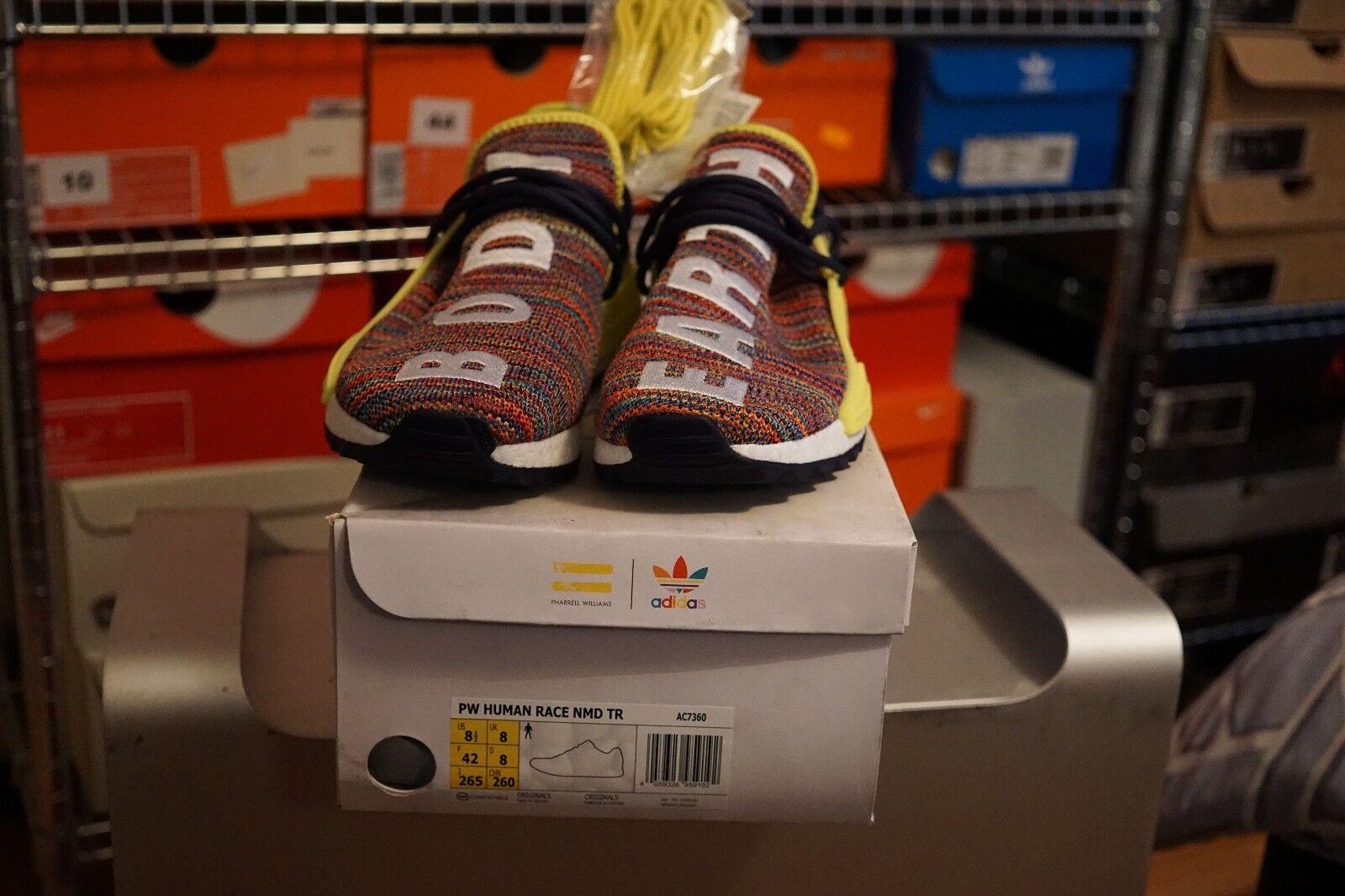 49f567994 adidas X Pharrell Williams Human Race HU NMD TR Trail Multi Colour ...