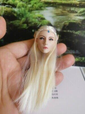 Lucifer 1//6th LXF1904 Elf Queen Emma Long Eared Female Head Sculpt Model Toys