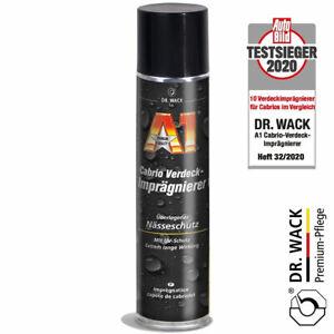 Dr. Wack A1 Cabrio Verdeck Imprägnierer Dachimprägnierung Nässe+UV-Schutz 400ml