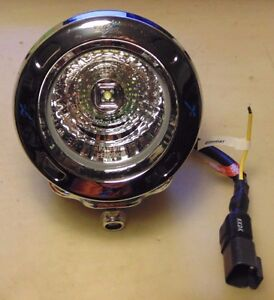 Vision-X-Optimus-Round-Chrome-3-7-034-LED-MEDIUM-Beam-Driving-Light-suit-4WD-AWD-VW