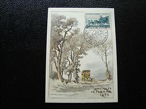 FRANCE-carte-8-3-1952-journee-du-timbre-aix-les-bains-cy6