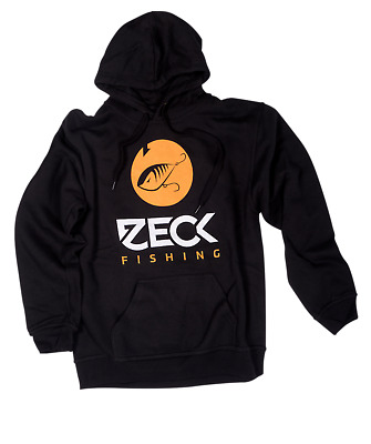 Zeck Predator Raubfisch Range 2018 black//orange T-Shirt Größe S-2XL