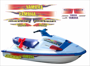 YAMAHA WAVERAIDER 1996 1100 RED Graphics / Decal Replacement Kit