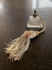 Vintage-Perfume-Bottle-Antique-Perfume-Atomiser-Cut-Glass-Scent-Bottle-Art-Deco