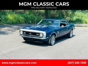 1968 Chevrolet Camaro SS350MIDNIGHTBLUE NICE MUSCLE CAR WATCH VIDEO