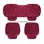 thumbnail 8 - Universal Front Rear Car Seat Cushion Auto Fashion Chair Mat Decorate Warmer Pad