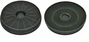 2 x Véritable Poêles Hotte Filtres Extracteur Ventilation Filtre à charbon 082650072