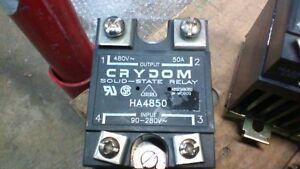 CRYDOM HA4850 SOLID STATE RELAY HBC-50HAA HEAT EXCHANGER W258