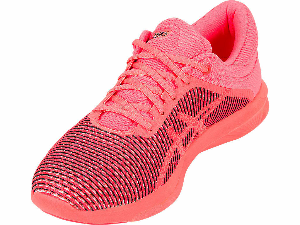 ASICS H T7K7N.0606 FUZEX R H ASICS CM Wmn's (M) Flash Coral Mesh Athletic Shoes e30d5d