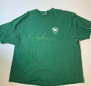 Vintage-1997-Pratt-amp-Whitney-039-Dependable-Engines-039-Green-T-Shirt-Size-XXXL