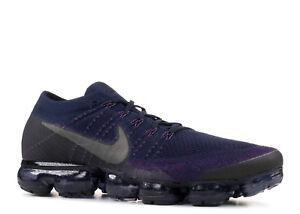 33a4f7a4df15c Nike Air Vapormax NikeLab QS Flyknit Purple Navy Blue Black 899473 ...