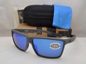 8651762274 Costa Del Mar RINCONCITO (RIC 98 OBMGLP) Matte Gray with Blue Mirror ...