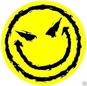 smiley face Evil