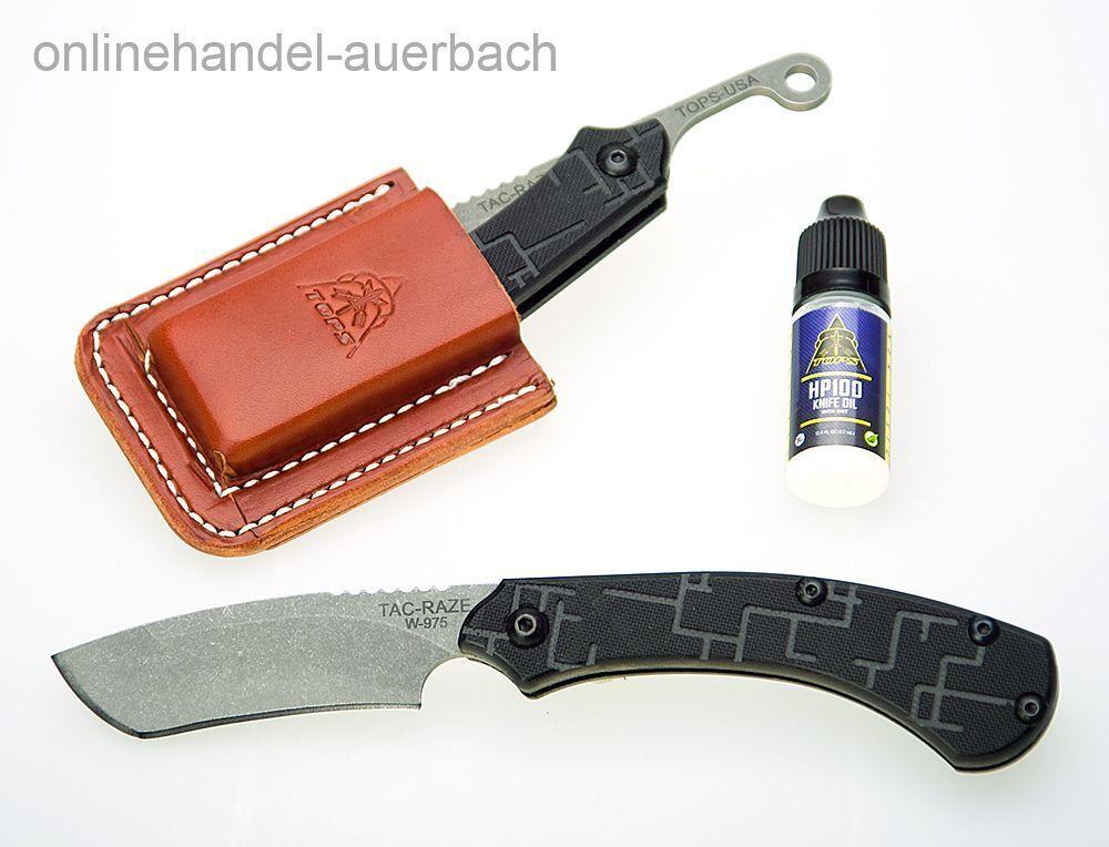 TOPS KNIVES TAC-RAZE   Friction Folder  Klappmesser  Messer